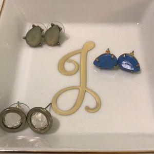 Jewelry - Earring trio